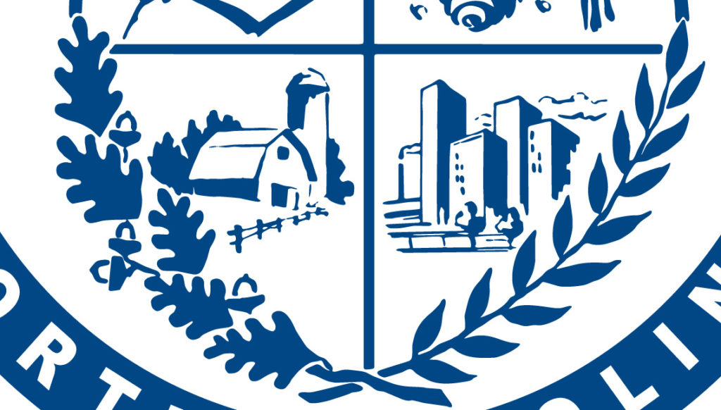 Bottom Section of the Mecklenburg County Seal