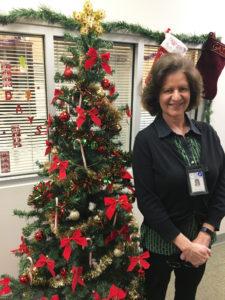 Mecklenburg County Public Health employee Alice Wirz serving community.