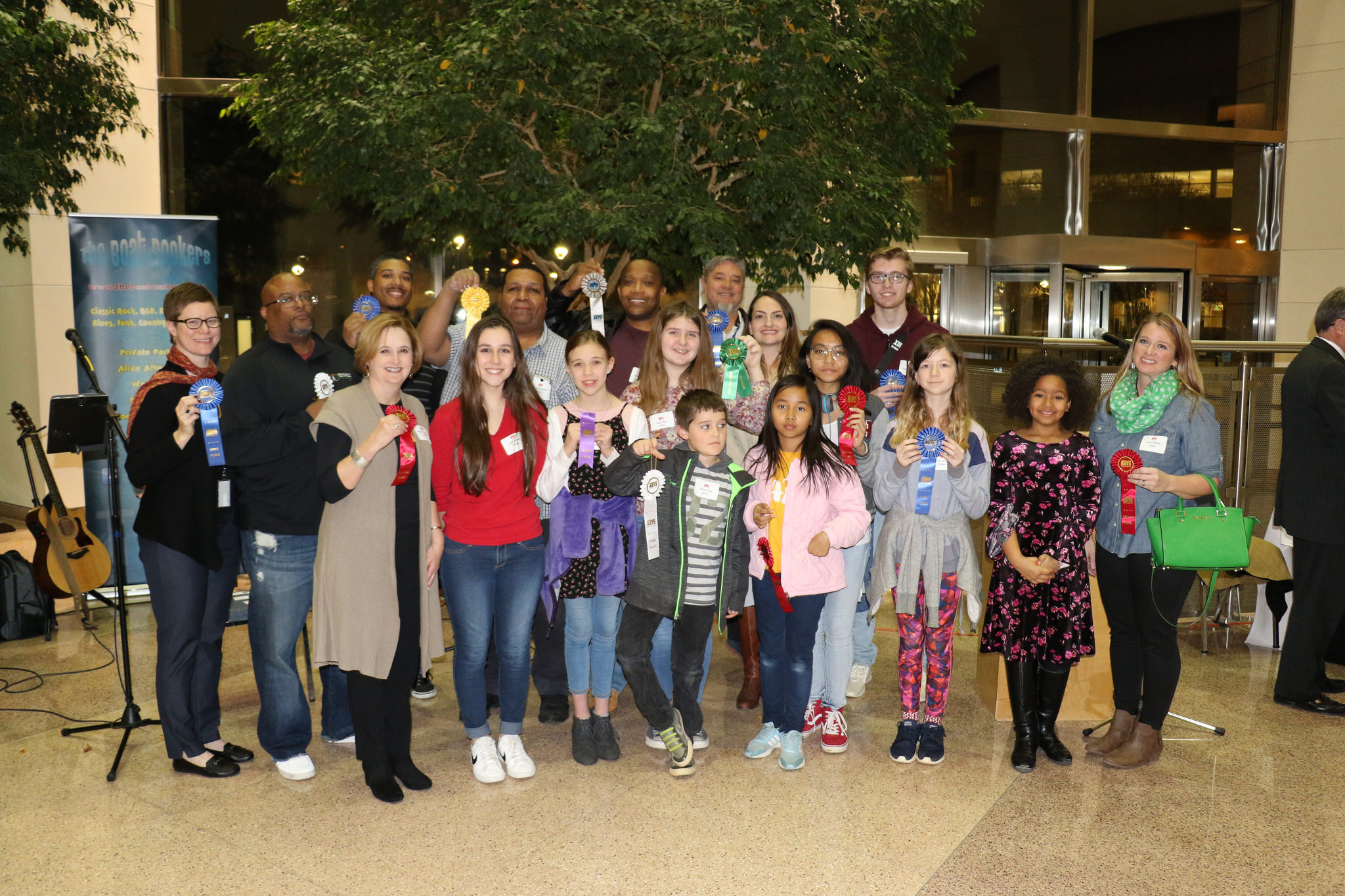 Award winners from the 18th Annual National Arts Program