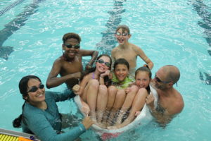Youth participate in Park and Rec swim camp