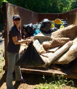 Old mattresses found in waterways
