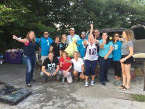 Carolina Panthers Tailgate Recycling Program