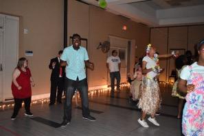 people having fun at a dance